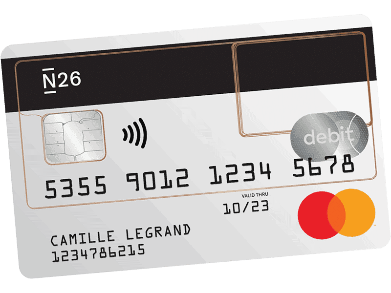 N26 Standard Carte Bancaire Transparente Avis Spendways